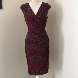 Lauren Ralph Lauren Paisley Print Dress